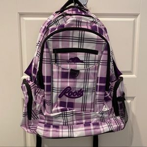 NEW Roots purple school backpack